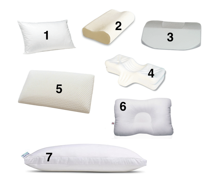 My Opinion On 6 Types Of Sleeping Pillows Check The Neck