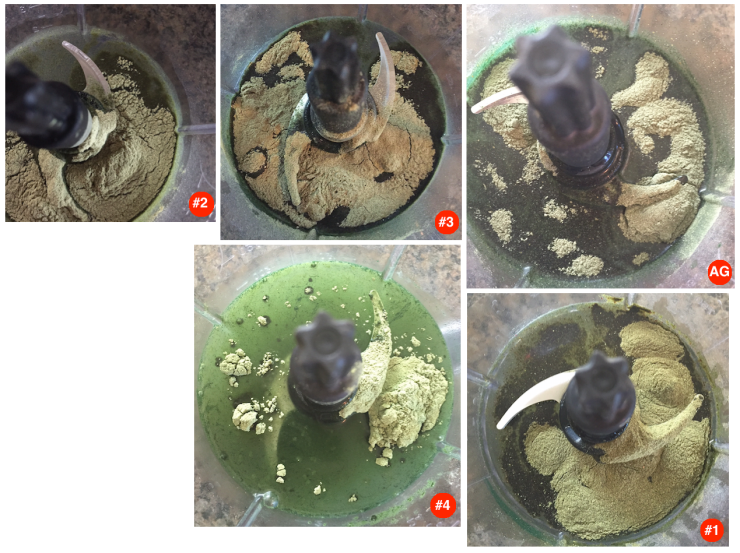 Greens Powder Visual Comparison